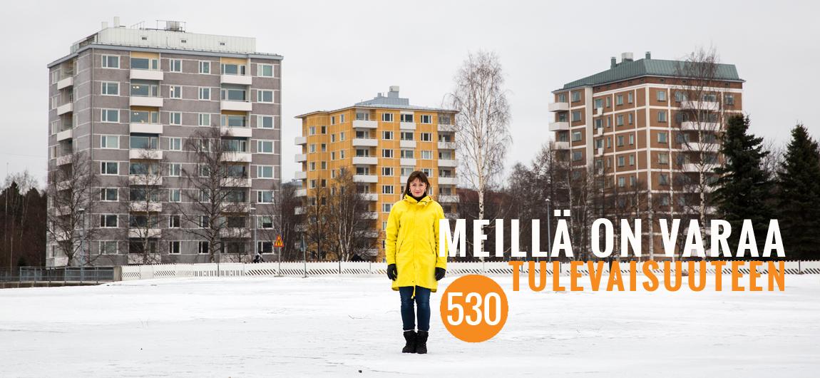 Hilkka Haaga kuntavaalit Oulu vasemmisto